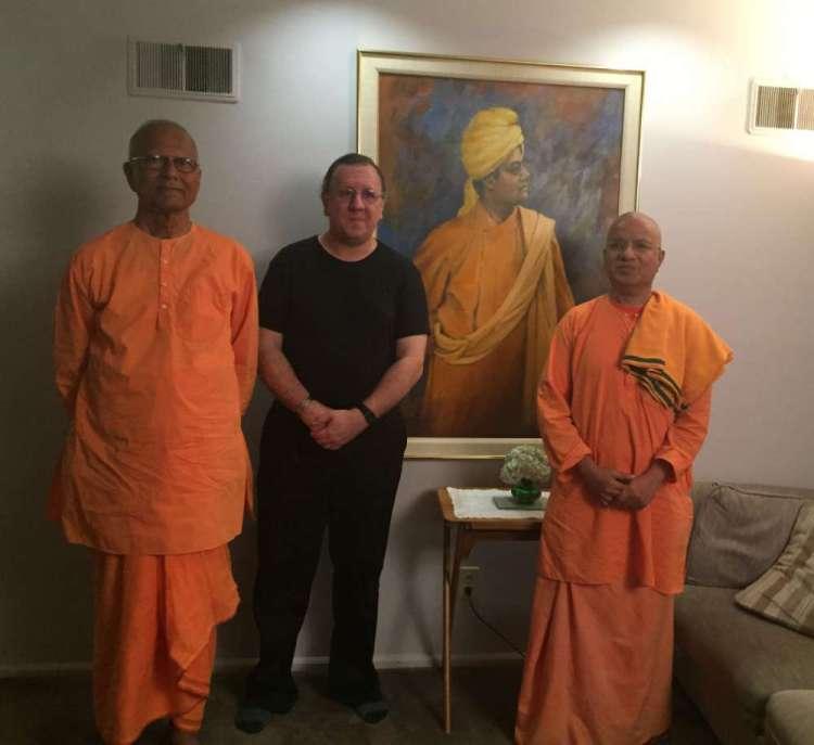 Vedanta Society of Kansas City - Arjun Sharma (Lecture Series) with Swami Chetananandaji and Swami Paritushtanandaji